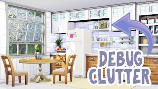 DEBUG CLUTTER! || The Sims 4 Tutorial