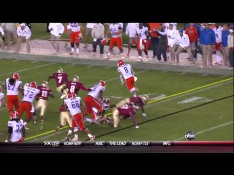2012 Florida Gators vs FSU Highlights