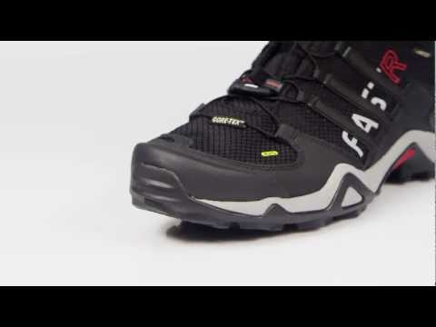 Video: Men's Terrex Fast R Mid Gore-Tex Hiking Boots