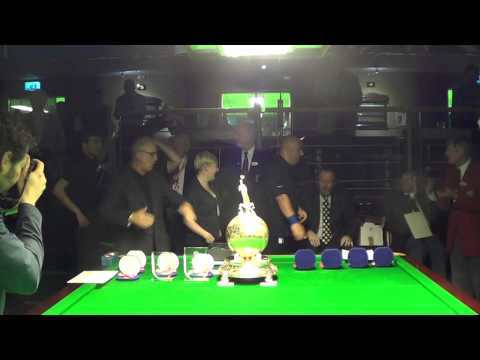 Prize Distribution Ceremony of 2014 World Billiards Championship