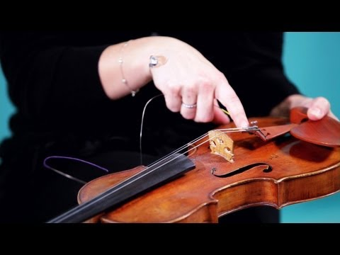 How to Replace Strings   Violin Lessons