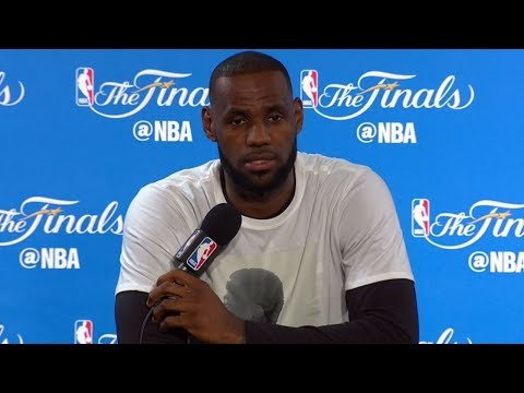 LeBron James NBA Finals Media Day #1 Press Conference | 2017 NBA Finals