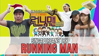 Singaporeans Try: RUNNING MAN at Gardens by the Bay | EP 76