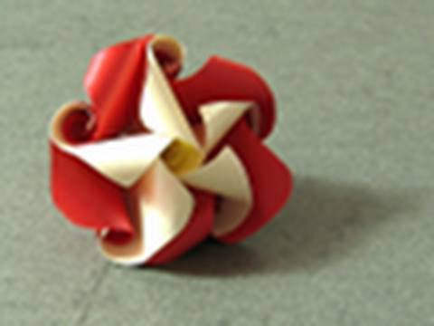 toilet paper origami flower instructions