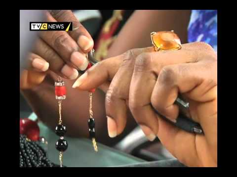AFRICARTS |AFRICAN BEAD MAKING |TVC NEWS
