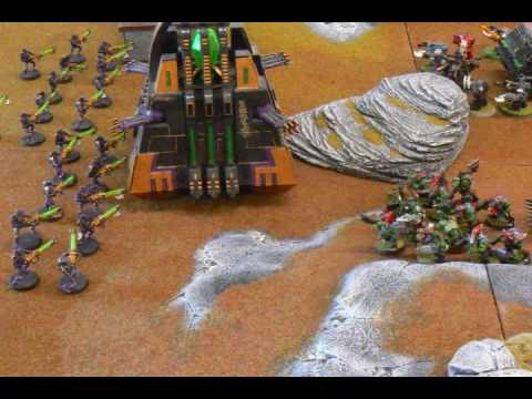 Necron vs Orks Battle Report