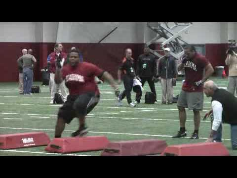 Pro Day: Terrence Cody Video