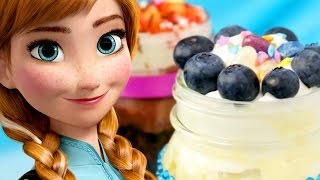 Anna and Elsa Frozen Dessert Jars | Dishes by Disney