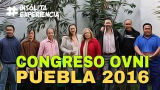 CONFERENCIA I Contactados e Investigadores Ovni en el 1er. Congreso Internacional Puebla.