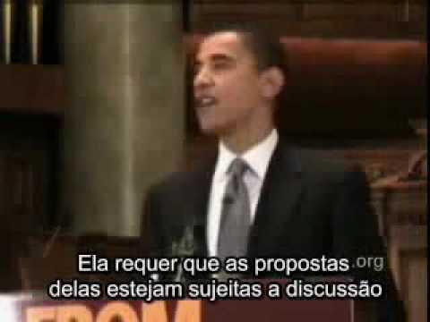 Obama - discurso sobre religião e a sociedade (sub.PT-BR)
