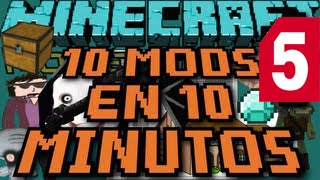10 MODS EN 10 MINUTOS ║ Ep.005 ║ Minecraft
