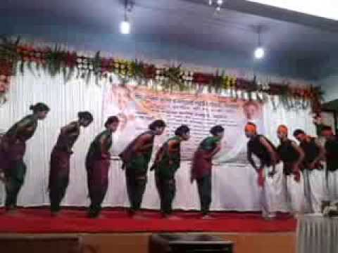 Natrang Khel Mandala Dance St Joseph college annual day performance...