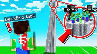 THE TALLEST MINECRAFT TOWER IN THE WORLD!