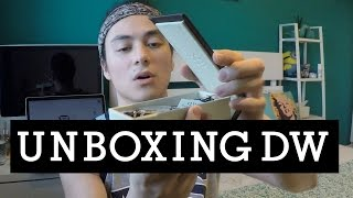 Unboxing Daniel Wellington watch!