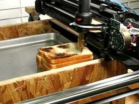 CNC Toast graphics
