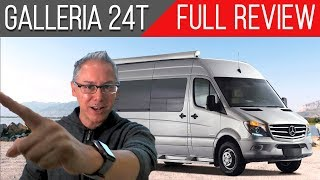 Full Review | Coachmen Galleria 24T | A 4 Season Capable RV with Available Lithium Upgrade!