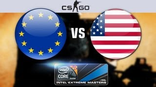 Counter-Strike Global Offensive: America vs. Europe