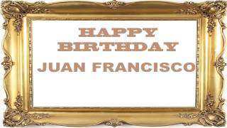 Juan Francisco   Birthday Postcards & Postales