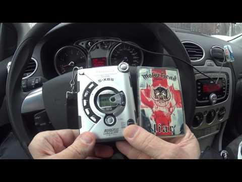 Panasonic RQ-SW88V Stereo Radio Cassette Player - Review - Playing in Car