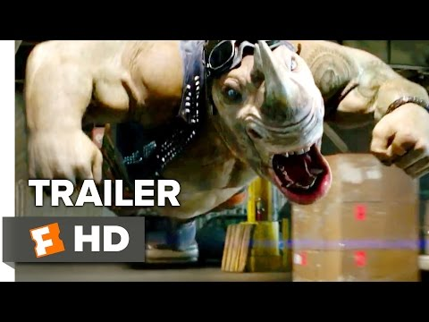 Teenage Mutant Ninja Turtles: Out of the Shadows 'Bebop & Rocksteady' Official Trailer (2016) HD