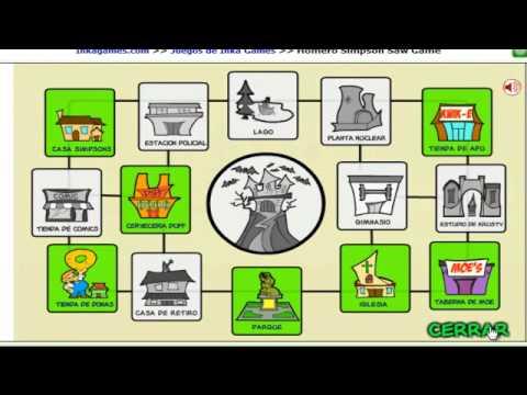 Homero Simpson Saw Game Solucion Parte 1/2