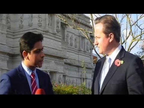 Visa bond scheme was never targeted at India: British PM David Cameron tells NDTV