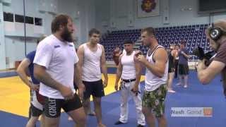 мастер класс Александра Емельяненко (Mixed Martial Arts) тюменским спортсменам в центре Дзюдо Тюмень