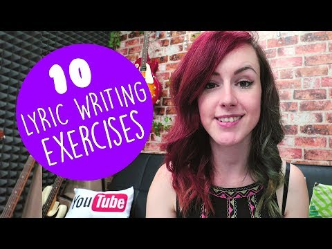 10 Daily Lyric Writing Exercises