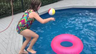 iphone 6 slow motion testing at the pool 2