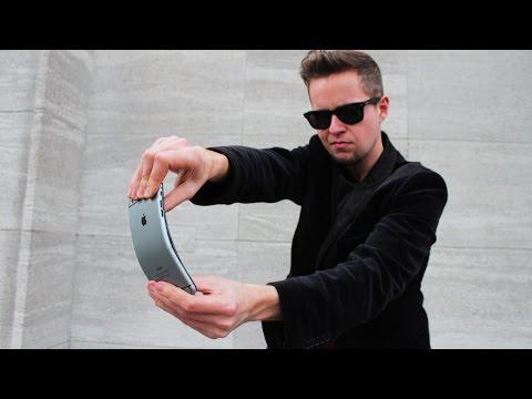 Magician bends iPhone 6 Plus! PRANK