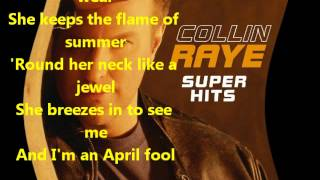 Watch Collin Raye April Fool video