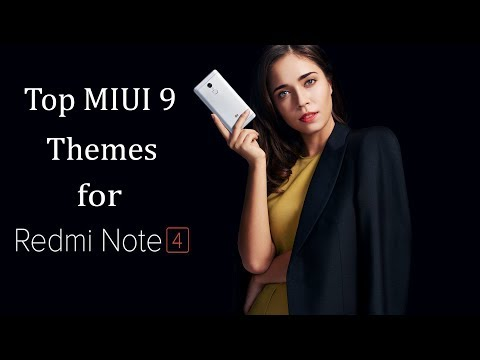 10 Best Themes for Redmi Note 4 / Redmi 5 / Redmi 5 Plus 2018 | Top MIUI 9 Themes 2018 #1