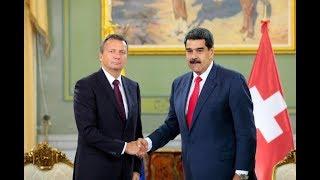 Presidente Maduro recibe credenciales del nuevo embajador de Suiza en Caracas