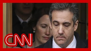 Prosecutors interview Michael Cohen for Trump Org probe