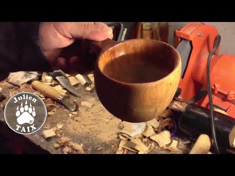 Fabrication Kuksa (Bushcraft)