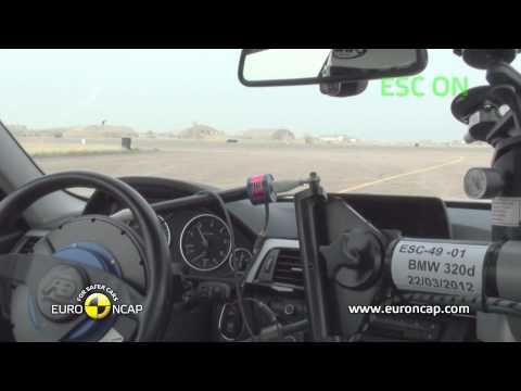 Euro NCAP | BMW 3 Series | 2012 | Электронный контроль устойчивости