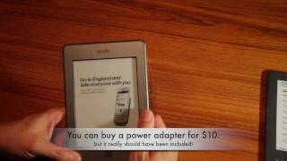 Amazon Kindle Touch Demo & Review