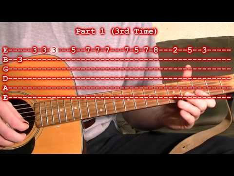 O Christmas Tree Tannenbaum Easy Guitar Lesson