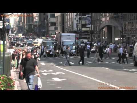 HD New York City Street - youtube.com/tanvideo11