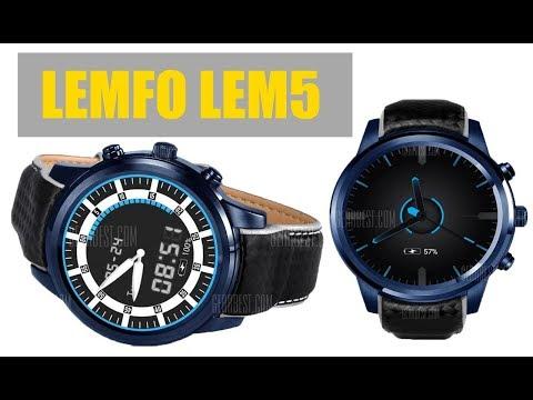 LEMFO LEM5 Pro Pro 3G Smartwatch 2GB RAM 16GB ROM Heart Rate Monitor GPS Overview