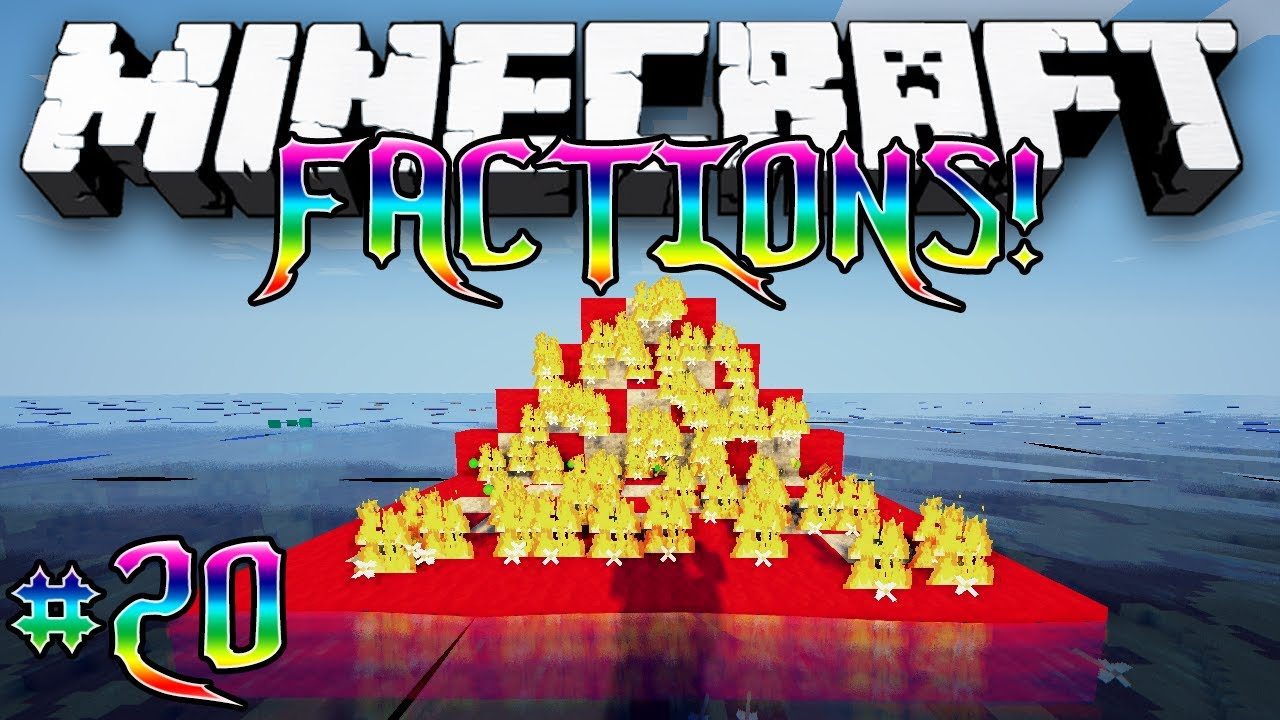minecraft how to make a factions world
