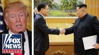 President Trump cautiously optimistic about North Korea