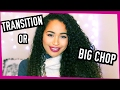 The Difference Between Transitioning and Big Chop Curly Hair | Lana Summer