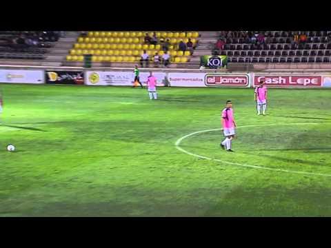 COPA: San Roque de Lepe 0 - Cádiz 3 (03-09-14)