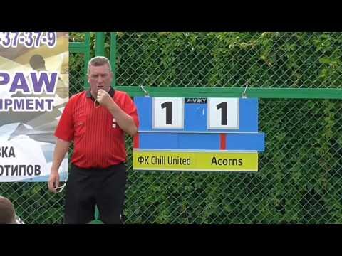 ФК Chill United vs Acorns Дніпро