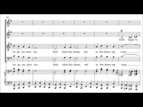 Gustav Holst - Turn back O Man