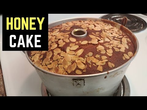 Honey Cake Recipe - Honey Cake for Rosh Hashanah