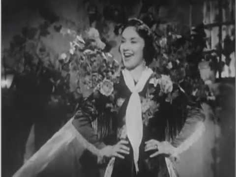 Norberto Lombardini Jerez -  Lolita Torres -  La Edad Del  Amor  - ( 1954 ). video