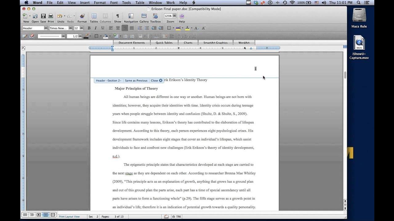 Dissertation Posie