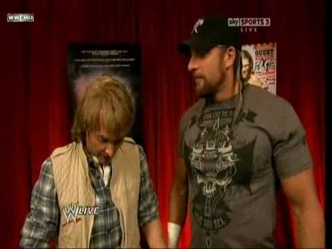 WWE Raw Macgruber s little accident